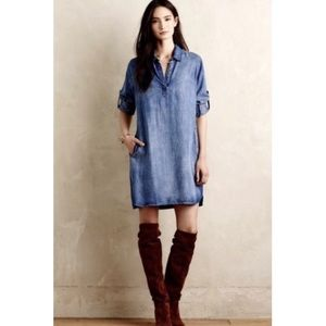 cloth + stone / chambray dark wash anthropologie